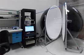 Computerized Spectral Flux Measurement System with 2MTR Dia. Integrator